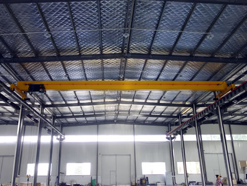 Overhead Crane: HD type Single Girder Electric Hoist Crane