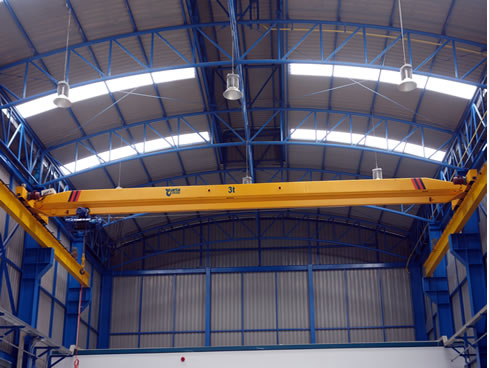 Overhead crane: LDA type Single Girder Hoist Overhead Crane